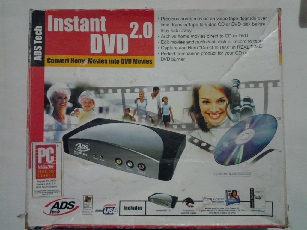 ADS TECH INSTANT DVD WINDOWS 7 X64 TREIBER