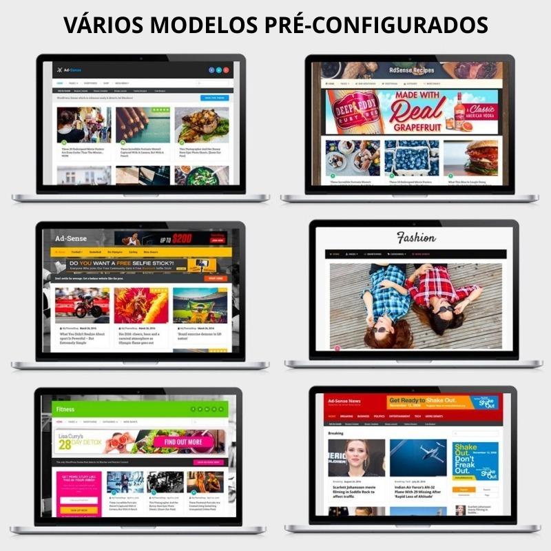 Adsense Tema Wordpress Para Blog Voltado P/ Anúncios V1.2.4 - R$ 12 ...