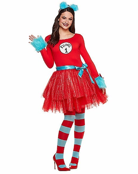Adult costume dr suess