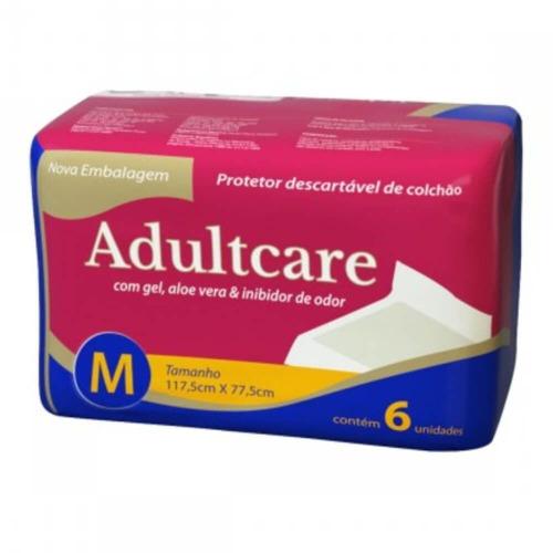 adultcare protetor descartável colchão m c/6