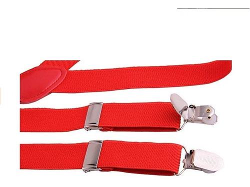 adulto correa clips unisex correas tres clips tirantes 2.5cm