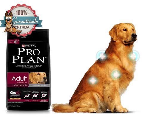 nuevo alimento perro adulto pro plan purina complete 15 kg - u$s 90