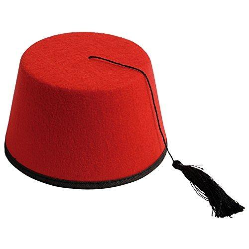 48801b879804d Adulto Rojo Dr. Who Shriner Turco Fez Sintió Sombrero De -   35.990 ...