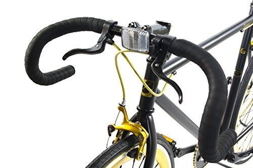 adultos alton corsa fixie 700c dp-780 frame fixed gear bik