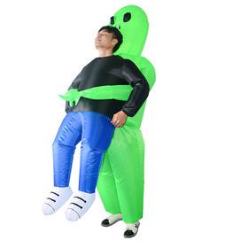 Adultos Fantasma Verde Trajes De Disfraces Inflables Blow Up