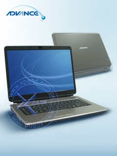 adv barebone compal ksw91, lcd tft 15.4 , soporta procesador