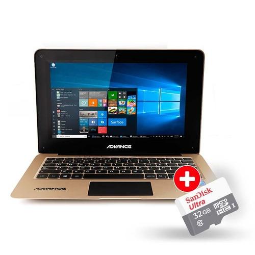advance nova nv9801 dorado + memoria flash class10 32gb