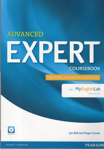 advanced expert coursebook - pearson 3rd edition
