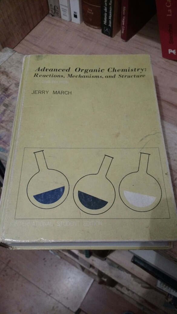Jerry March Organic Chemistry Book