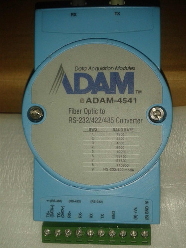 advantech serial rs-232/422/485 to fiber optic converter