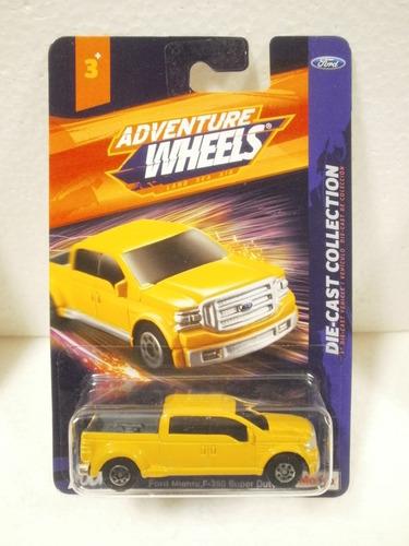 adventure wheels camioneta ford f350 super duty amarillo