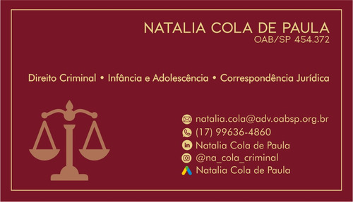 advogada criminalista - processos judiciais