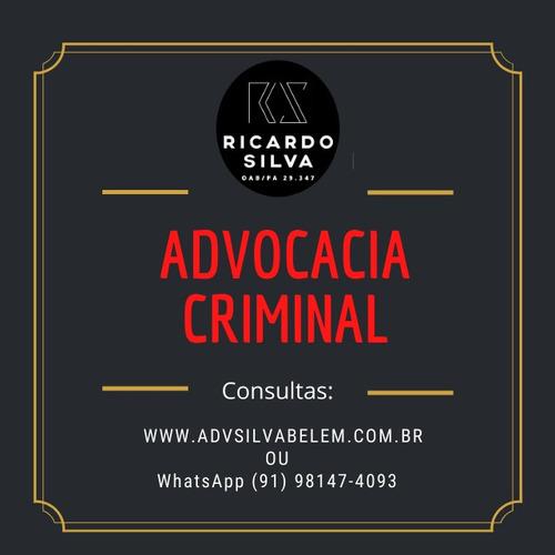 advogado criminal - belém/pa