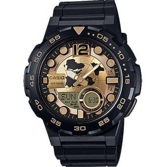 ae-q100bw-9avdf - reloj casio ana-dig tele 30 3 alarmas