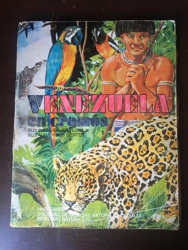 ae único y original álbum venezuela en cromos 1975. vintage