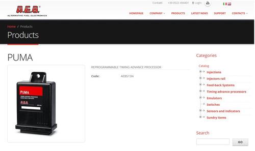 aeb tap 515n - timing advance procesor puma