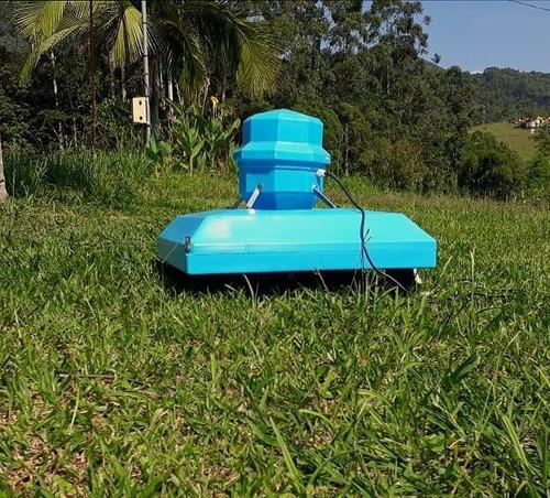 aerador chafariz para piscicultura 1/4 cv-para 300 mts²