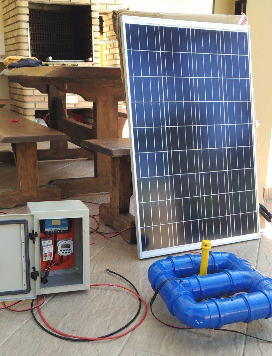 Aerador para tanques de peixes solar 5000 litros hora r for Tanque de 5000 litros