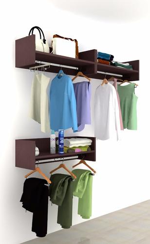aéreo closet, armario, closet flotante de 60 cm