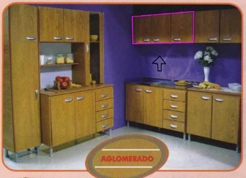 Aereo de cocina 3 puertas alacena mueble 690 00 en for Mueble aereo cocina uruguay