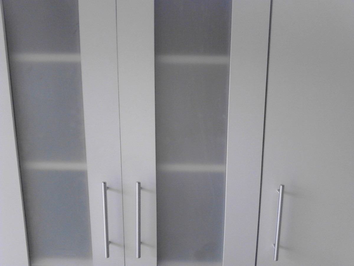 Aereo con puertas de vidrios opacos y batiente unicosssss - Vidrios para puertas ...