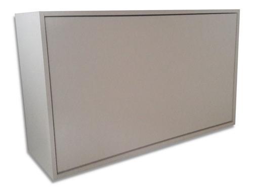 aéreo mdf  abertura click suspenso basculante armário novo