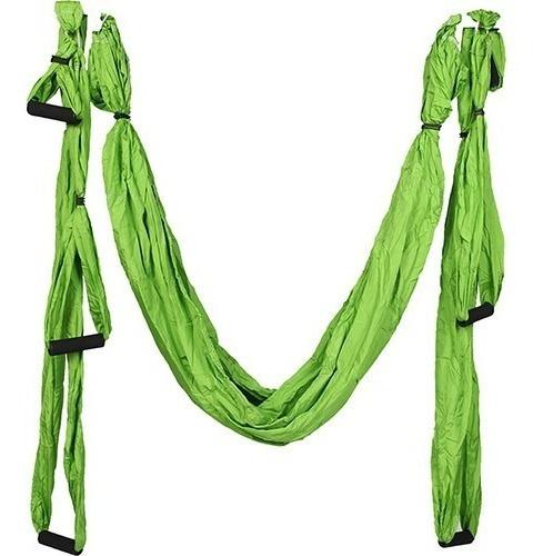 aero pilates yoga swing - proaction - 200kg - verde