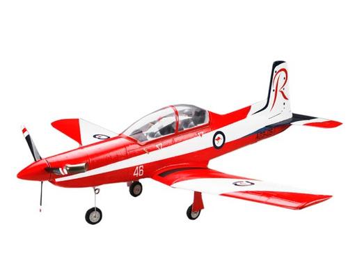 aero pilatus pc-9 - art tech - 850mm vermelho epo pnf