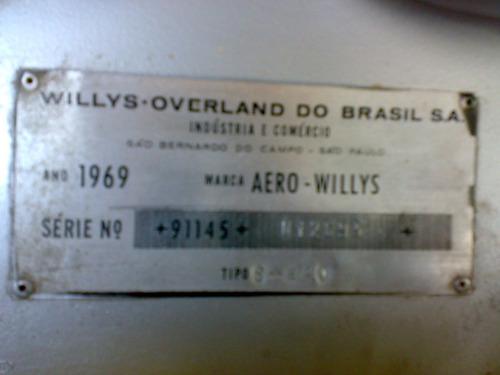 aero willys 1969
