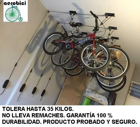 Aerobici Elevador Para Colgar Bicicletas Del Techo Indarg 1150 - Colgar-bici-techo