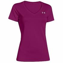 Camiseta - Blusa Under Armour - Dama Color Morada
