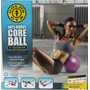 Pelota Para Ejercicios Pilates / Yoga De 23 Cms Golds Gym