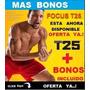 Focus T25 Más Fácil Que Insanity 25m Día Ponte Fit + Bonos