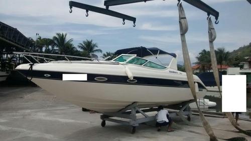 aeroboats 260 cabinada mercruiser 5.0 260 hp 2009 caiera