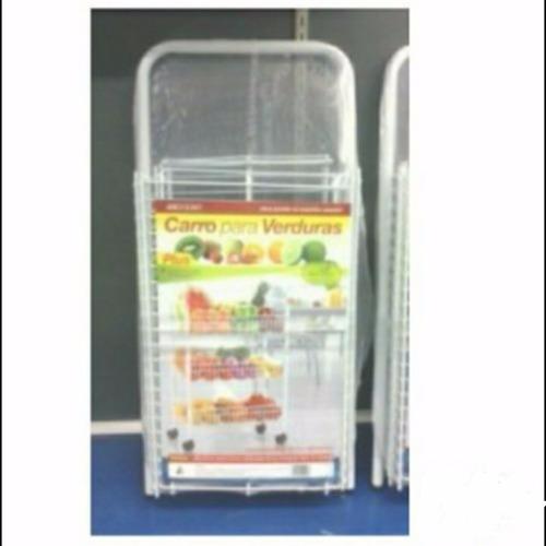 aerocloset carro de verduras organizador con ruedas