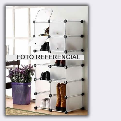 Aerocloset zapatera closet organizador gavetero toallero 9 for Zapatera de aluminio