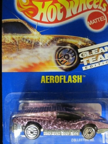 aeroflash 1992 hot wheels # 191 brillo pink tea envío gratis