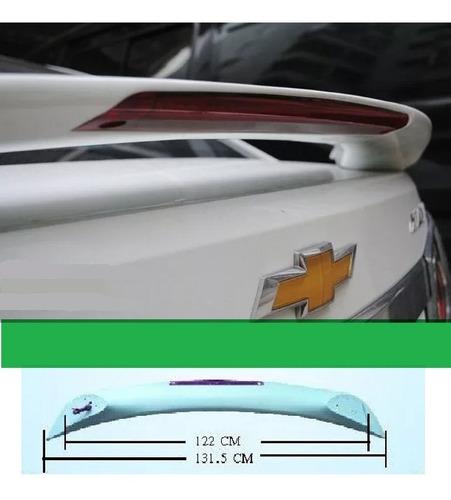 aerofólio cruze sedan em abs com brake led sedan até 2016