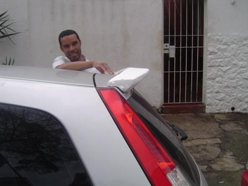aerofólio do ford fiesta 03/09 hatch mod. importado!!!