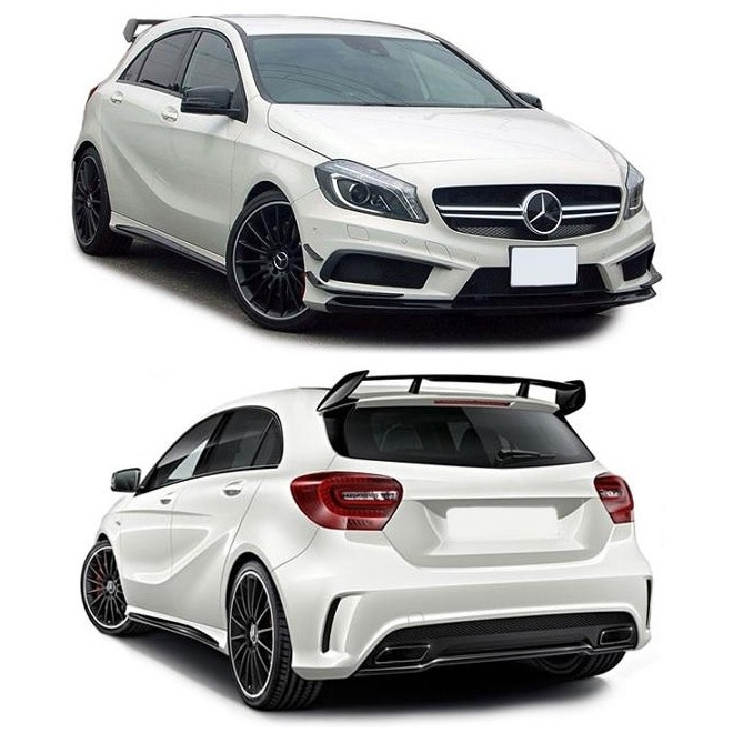 aerofolio mercedes a180 a200 a220 a250 a45 amg w176 2012 17 r em mercado livre. Black Bedroom Furniture Sets. Home Design Ideas