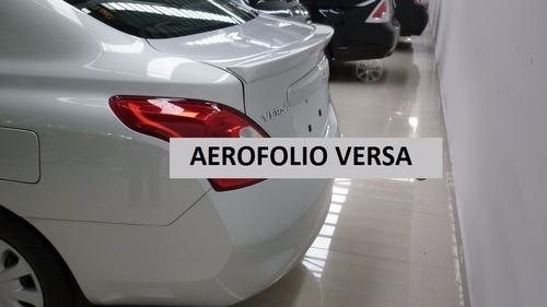 aerofólio nissan versa 12 14 2019 2020 1 acessorio ñcromado