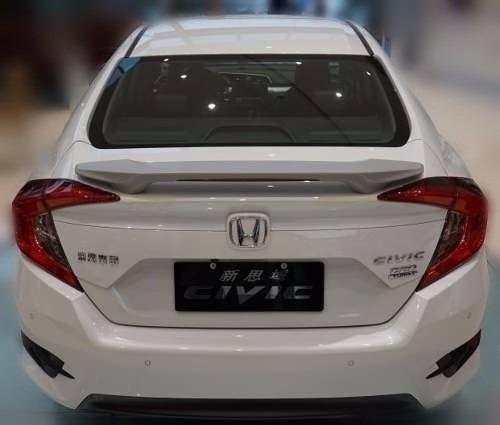 Aerofólio Para O Novo Honda Civic 10 2016 2017 - Sem ...