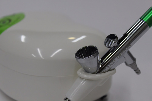 aerografo kit brand design profesional belleza c/compresor