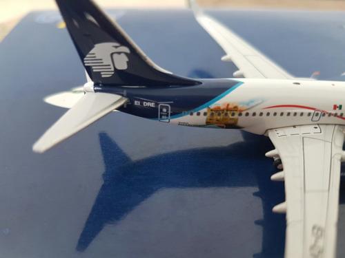 aeromexico b737-700 visa escala 1/400 gemini