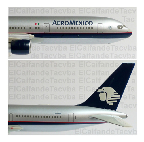 aeroméxico boeing 767-300 avión hogan wings escala 1:200