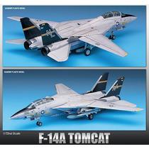 Avion Academy U.s. Navy Forcef-14a Tomcat Sellado 1/72