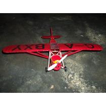 Avion Metalico Triplan Para Adorno O Exhibicion