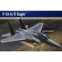 Avión Para Armar Esc 1:110 Modelo F-15 Eagle Modelismo