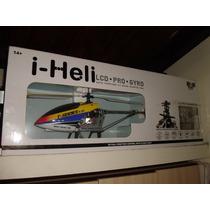 Helicoptero I-heli Lcd Pro Gyro Grande