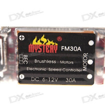 Speed Control Esc Mystery 30a Brushless Helicoptero